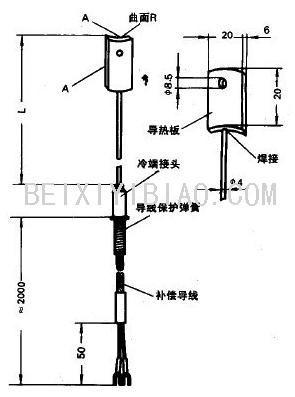 电站测温用热电偶,热电阻